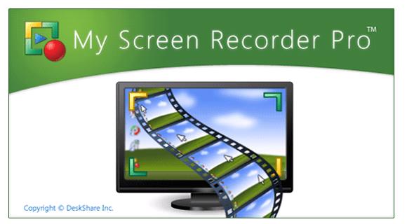 Deskshare My Screen Recorder Pro 5.3 Crack